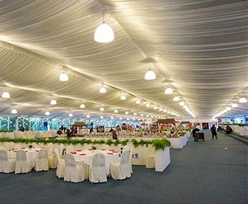 30 x 30 Outdoor Wedding Marquee Tents