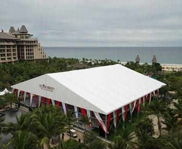 50x50m Luxury Wedding Tent With Decorations