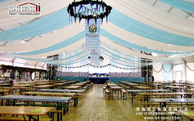 Event Tent interior