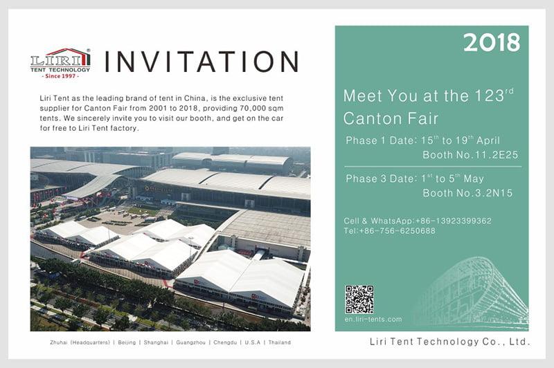 Liri Tent And 123rd Canton Fair