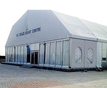 Polygon Huge Hall for Wedding Reception