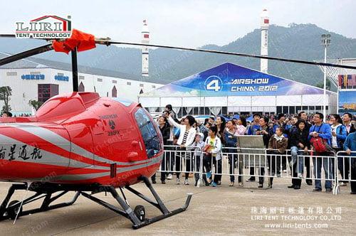 Zhuhai Airshow tent