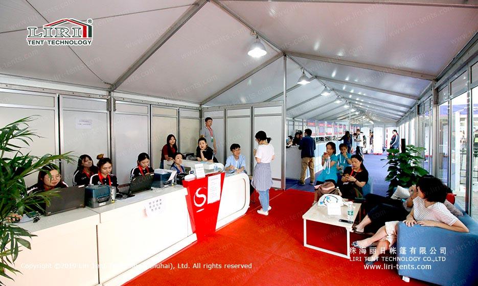 big sport event tent