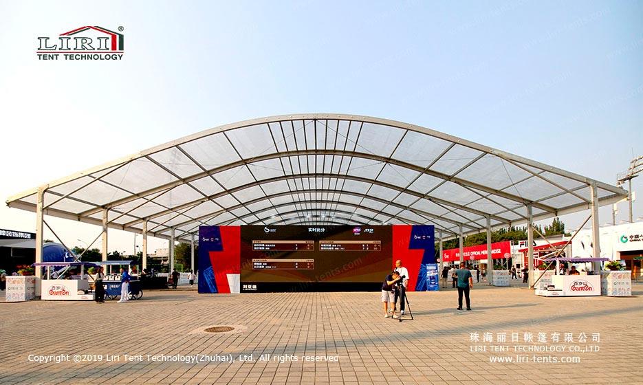 transparent sport event tent
