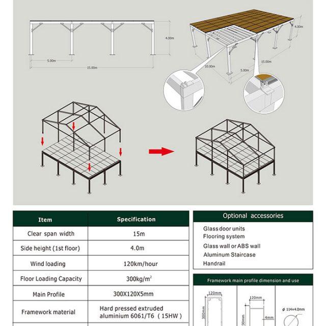 15m Span Deck Structure