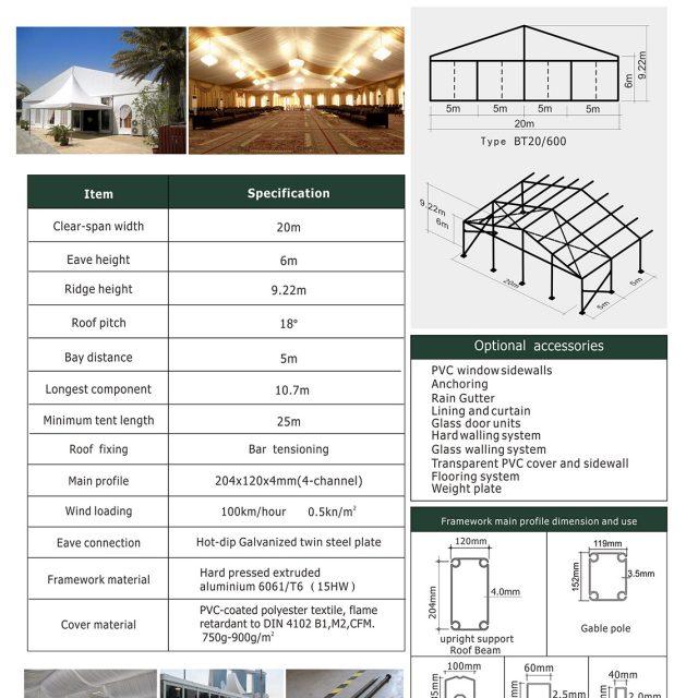 20m Span Big Tent BT