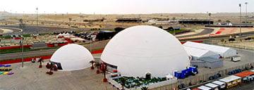 60m Half Sphere Dome Tent