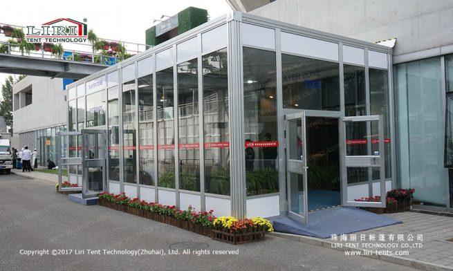 Cube modular tent