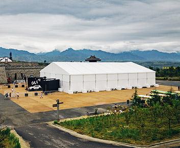 Custom Auto Show Display Tents