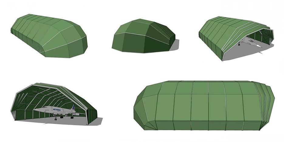 Eyelid Hangar Tent