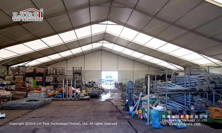 Large Storage Tent indoor