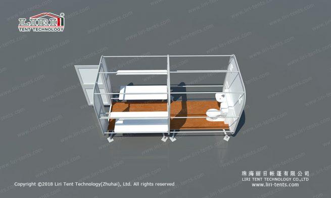 Modular Box tent structure