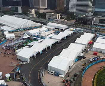 Outdoor Event Tent For Formula E