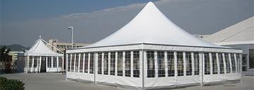 Pagoda tent ( 8m-10m )