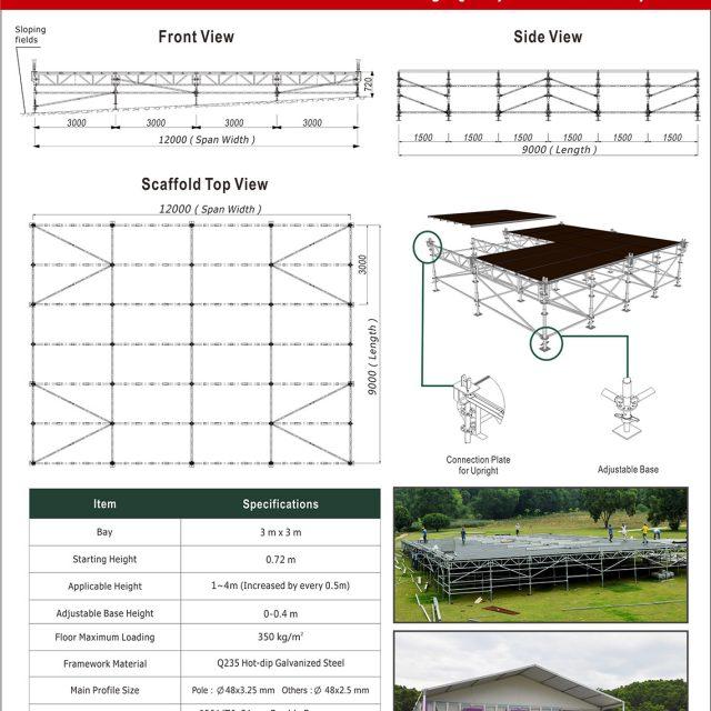 Ringlock Scaffolding Flooring