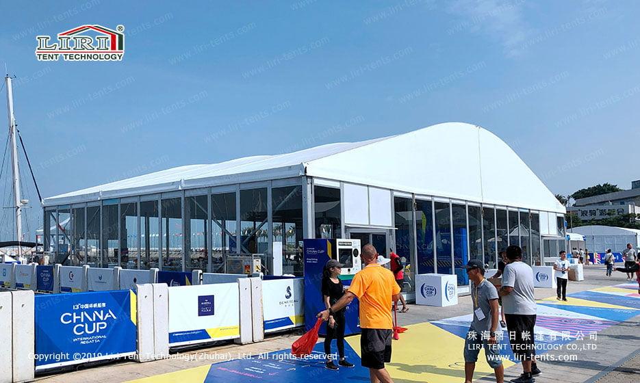 Sailing Regatta Event Tent