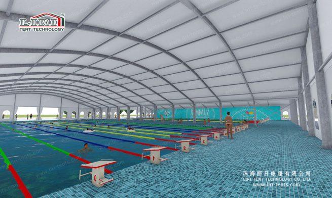 Swimming Stadium tent