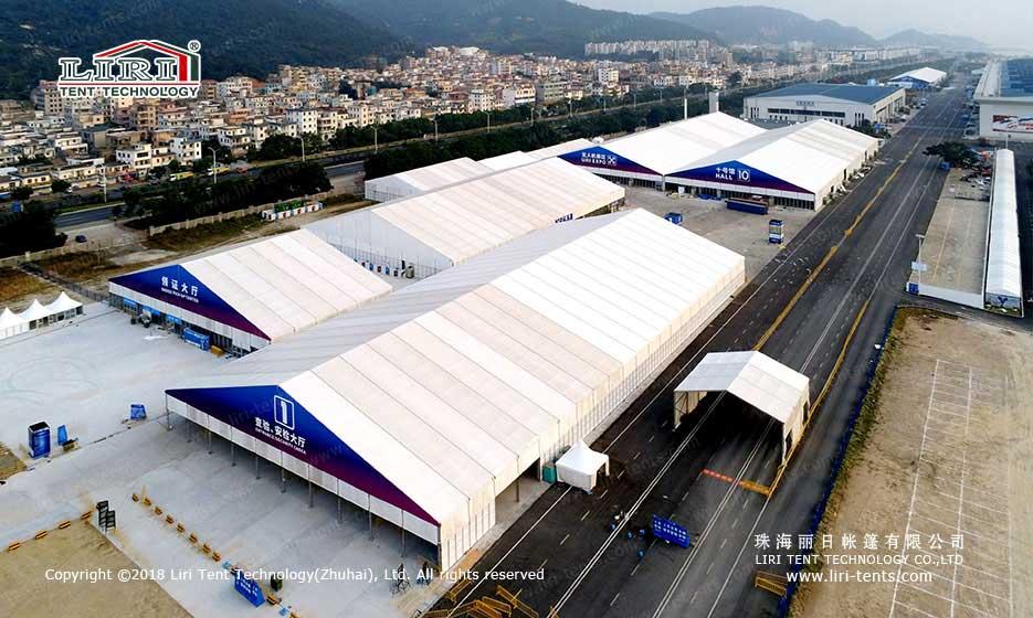big air show tent