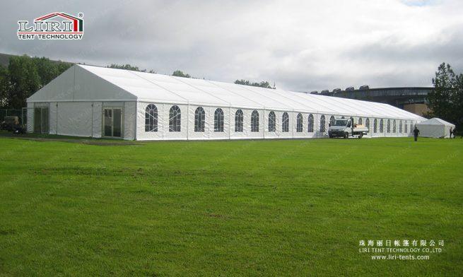 big tent with double wings door
