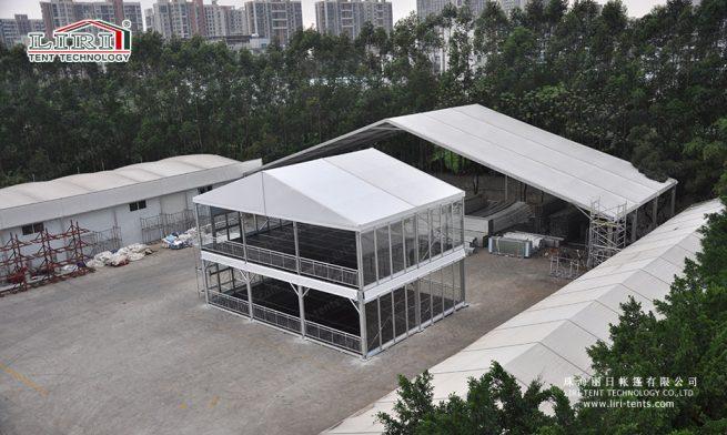 deck structure tent