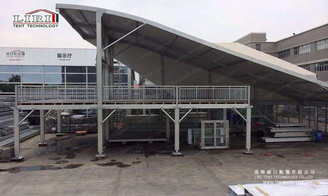double decker tent