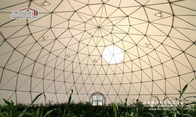 geodesic dome indoor garden