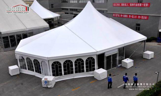 high peak mixed event tent