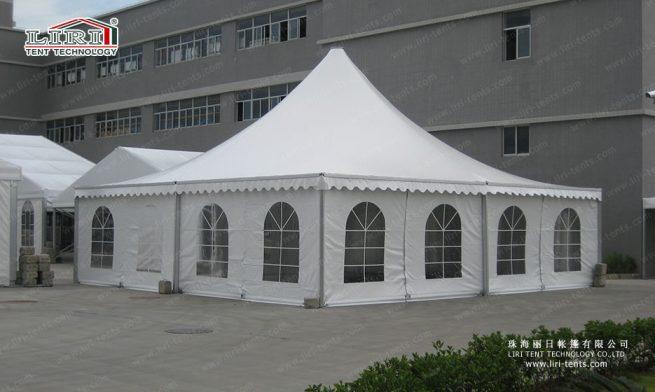 high peak pagoda tent