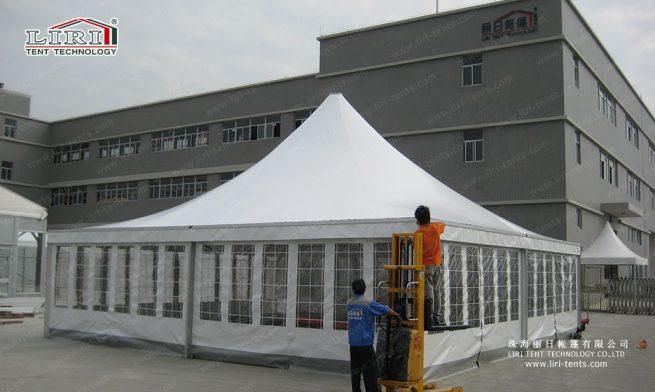 high peak pagoda tents