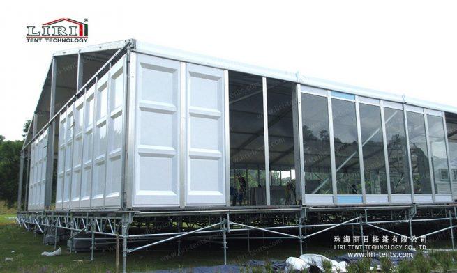 modular adjustable flooring system