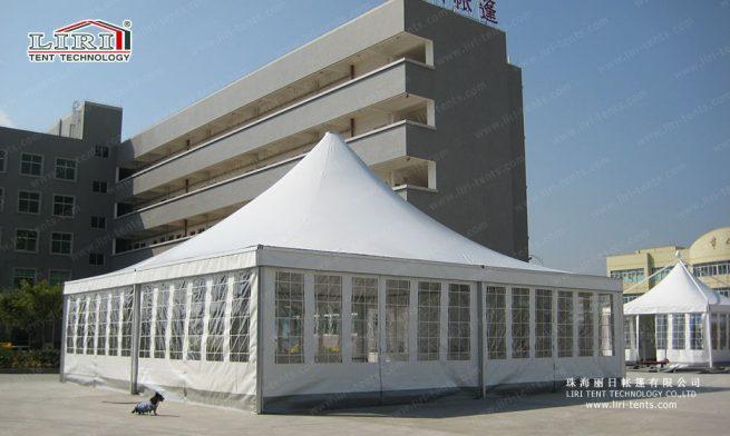 pagoda tents with window sidewalls