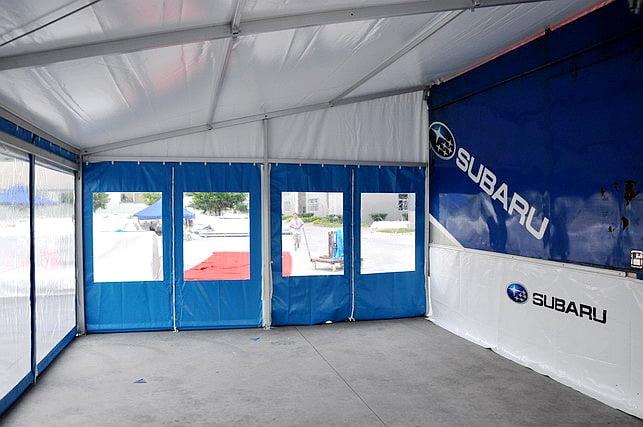 small trailer tent
