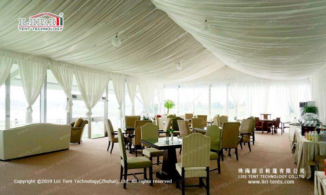 transparent arcum tent