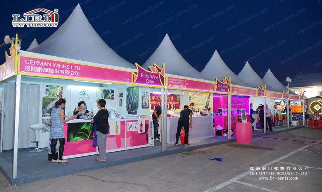 wine festival tent