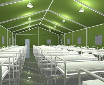 Barracks Tent
