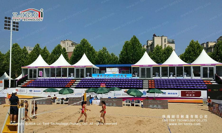 Indoor Volleyball Court Building