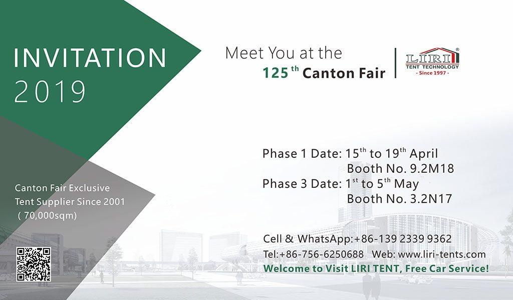 Liri Tent And 125th Canton Fair
