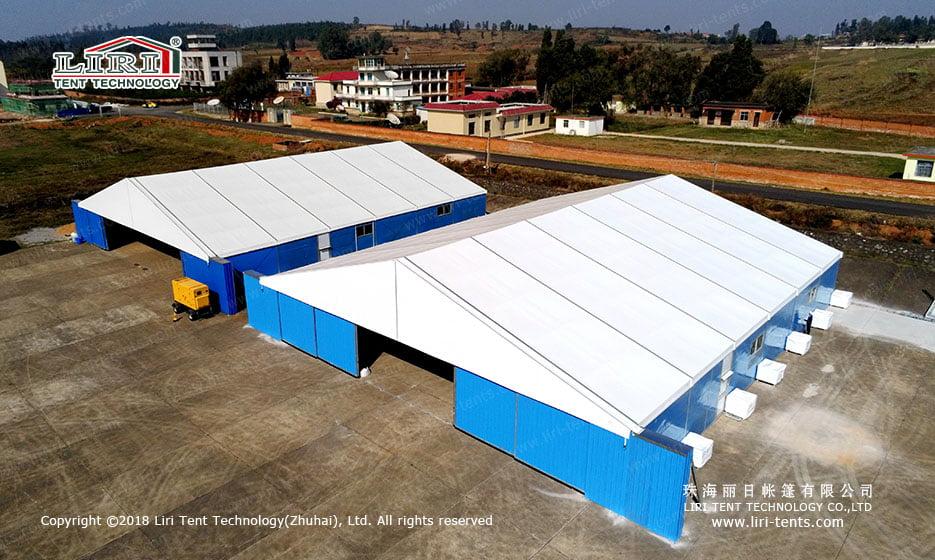 Helicopter Hangar Tent & Hangar Tent - Liri Tent