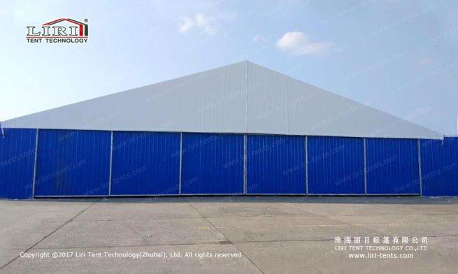 Manual hangar sliding door install