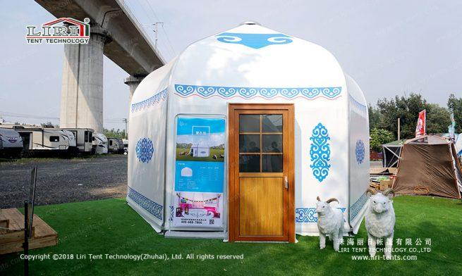 outdoors luxury Yurt tent