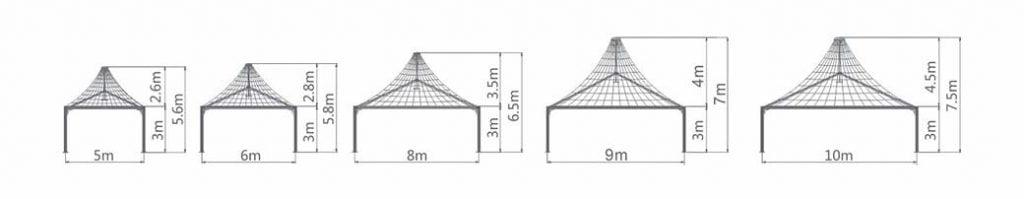Modular Pyramid Tent