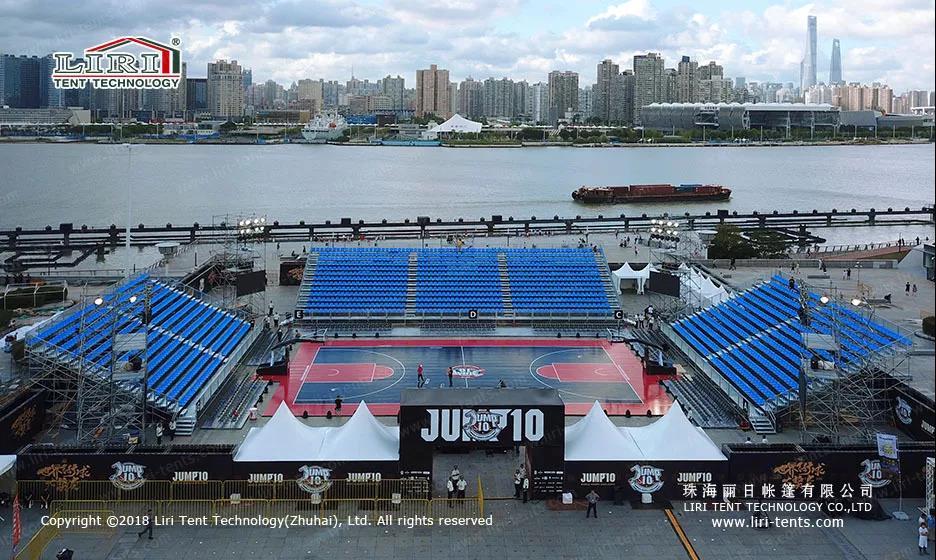 Indoor Spectators Stand shape