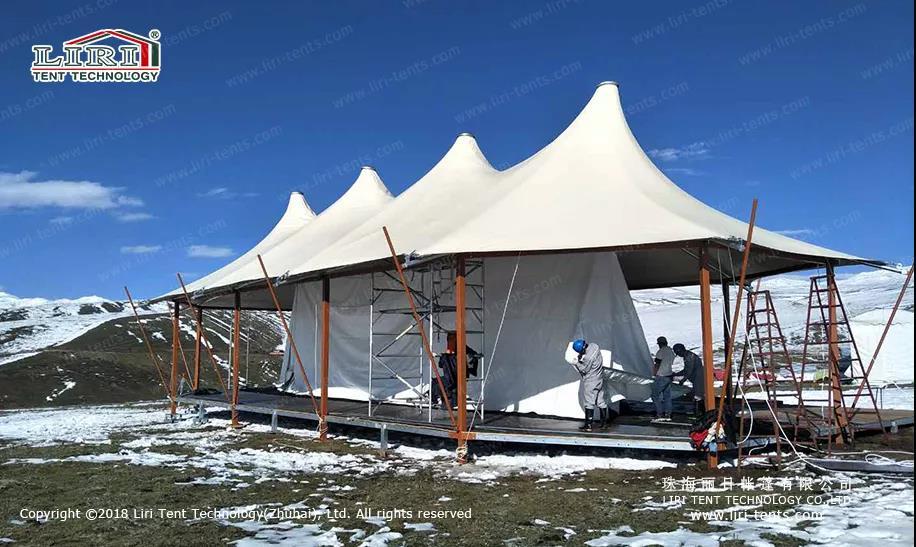 luxury Double Peak Hotel Tent