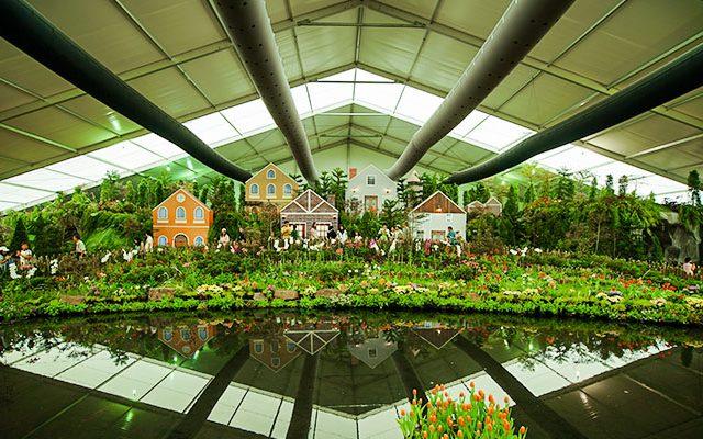Relocatable Flower Show Tent Video
