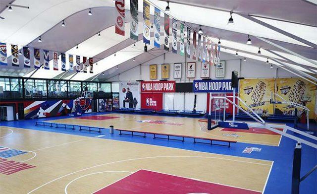 Multi-Purpose Temporary Sports Halls