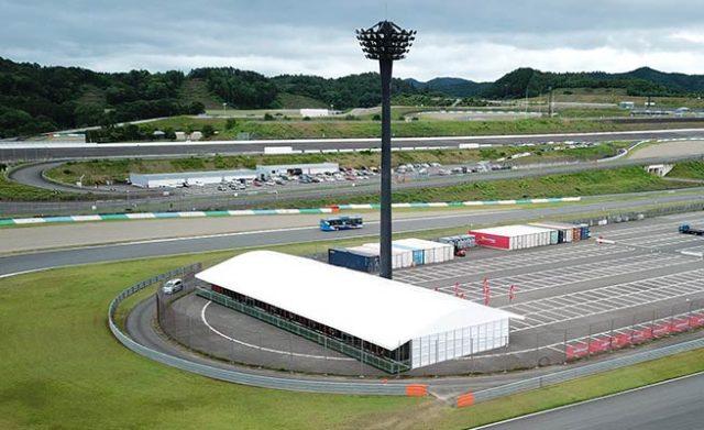 Event Tents of LIRI TENT for Ferrari Challenge Racing Video