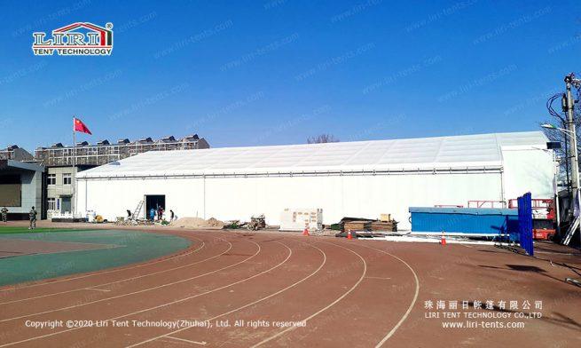 Ice hockey rink sports tents