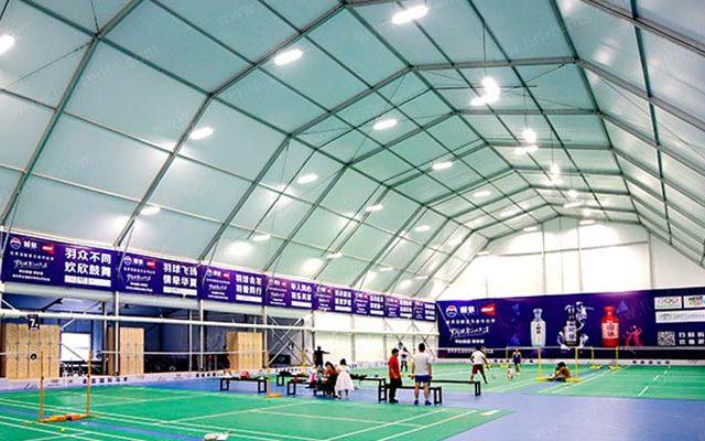 Indoor Badminton Court Tent Video