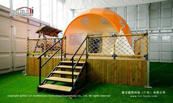 Ladybug Dome Glamping tent