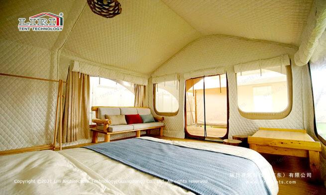 Hawaii Glamping Tent Room Window